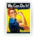 Sticker rosie la riveteuse we can do it oldschool vintage old Pinup 44