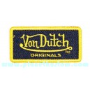 Patch ecusson von Dutch originals denim signature gold jean