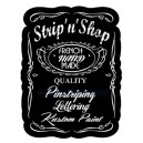 Sticker Strip'n'Shop first tee shirt pinstriping SNS Shirt