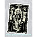 Sticker life and death sugar skull dia de los muertos 24