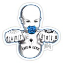 sticker dont hate baby tattoo baby 1