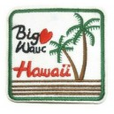 Patch ecusson thermocollant big wave hawaii surf beatch