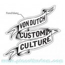 Sticker vondutch origine custom culture bannière von dutch 2