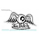 Sticker vondutch flying eye ball signature originale von dutch 4