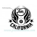 Sticker vondutch von california flying eye ball von dutch 6