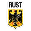 Sticker rust dutch aigle blason patina used hoodride rusty rats 17