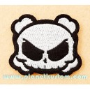 Patch ecusson skull bones crane cartoon pirate