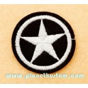 Patch ecusson US army silver star etoile armée USA