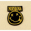 Patch ecusson thermocollant nirvana band grunge garage USA