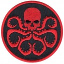 Patch ecusson thermocollant red skull marvel comics hydra