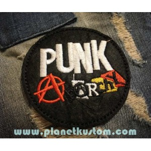 Patch ecusson thermocollant punk anarchy anarchiste rock
