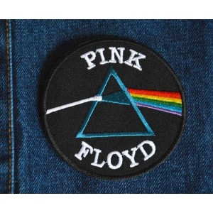 Patch ecusson thermocollant pink floyd rock pop