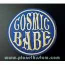Patch ecusson thermocollant cosmic babe