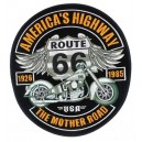 Patch americas highway route 66 the mother road usa grande taille