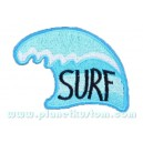 Patch ecusson thermocollant surf wave vague