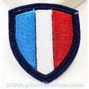 Patch ecusson drapeau fanion francais france bleu blanc rouge
