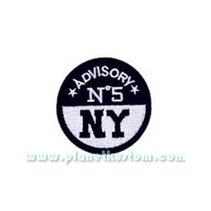 Patch ecusson thermocollant advisory n 5 NY newyork