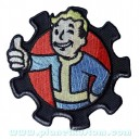 Patch ecusson logo personnage fallout world game zombie geek