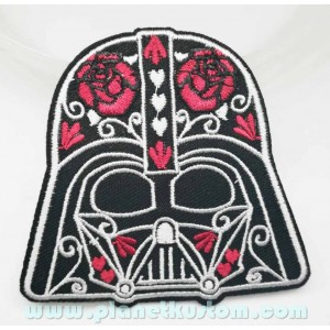 Patch ecusson casque dark vador darth vader sugar skull star wars