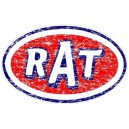 Sticker rat parodie STP used usé moyen rats 32