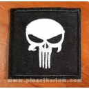 Patch ecusson punisher tête de mort skull marvel geek rectangle