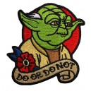 Patch ecusson maître yoda jedi star wars do or do not