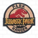 Patch ecusson thermocollant jurassic park ranger film costplay