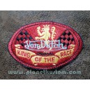 Patch ecusson von Dutch King of the race lion damier old stock