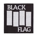 Patch ecusson thermocollant black flag band punk hardcore USA