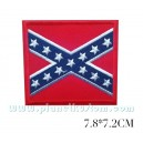 Patch ecusson drapeau rebel sudiste confédéré general lee redneck sud