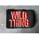 Patch ecusson a coudre non thermocollant wild thing le sauvage
