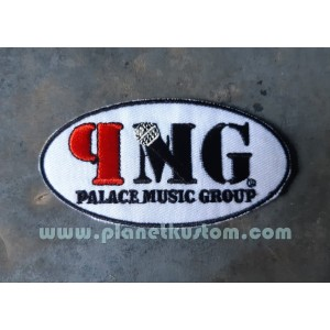 Patch ecusson thermocollant palace music group PMG maison disque