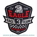 Patch ecusson biker eagle aigle race 3 team motorcycle one