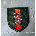 Patch ecusson thermocollant fanion army military red sneek commando