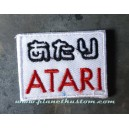 Patch ecusson thermocollant geek atari games consoles jeux vidéo france