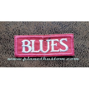 Patch ecusson a coudre blues pink rose music non thermocollant