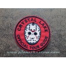 Patch ecusson thermocollant crystal lake official tour guide vendredi 13