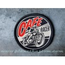 Patch ecusson thermocollant cafe racer moto racing retro vintage
