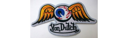 Patchs ecussons Von Dutch