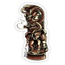Sticker tiki elvis presley bad boy d.Vicente 22