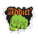 Sticker Strip'n'Shop poing zombie SNS Addict