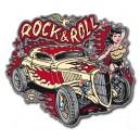 Sticker Bigdaddyjo rock & roll girl hot rod BIG31