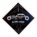 Sticker Strip'n'Shop rat rod anne-lise paint job SNS rod