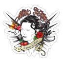 Sticker miss kitty kustom kulture old pin up 28