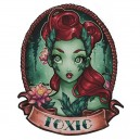 Sticker pinup toxic Zombie girl 4