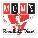 Sticker moms roadkill diner vintage publicité old pin up 36